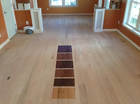 Staining Cardona Flooring Llc
